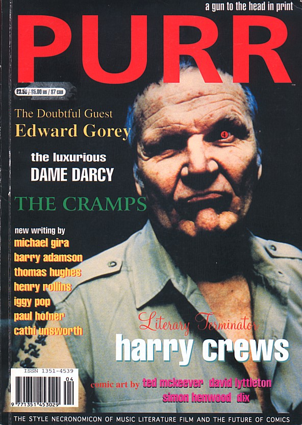 Harry Crews – Naked in Garden Hills – 1st HC/DJ